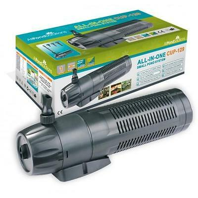 £59.99 • Buy Pond Filter / 9w UV Steriliser / Fountain Pump ALL IN ONE + Spare Bulb And Foams