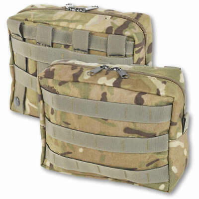 £16.95 • Buy British Army MTP Large Zipped Molle Utility Pouch Horizontal - British Made