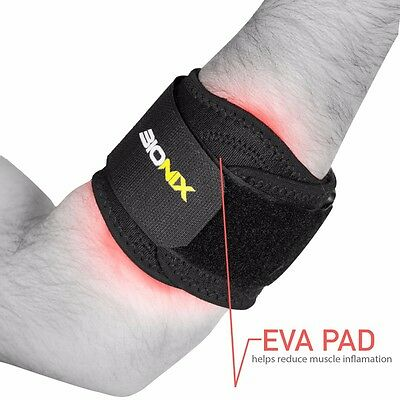 Tennis Elbow Support Golfer's Strap Epicondylitis Brace Lateral Pain Syndrome • 3.99£