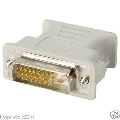 AU6.23 • Buy DVI-D Digital Dual Link Male 24+1 To VGA Female Adapter FastShip From USA