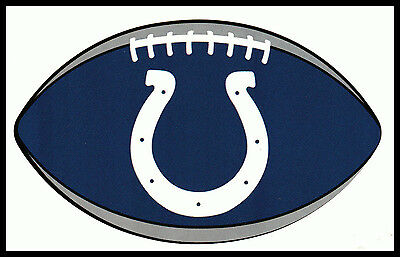 $1.25 • Buy Indianapolis Colts Oval Football Nfl Decal Sticker Team Logo~bogo 25% Off
