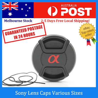 AU9.99 • Buy Sony Front Lens Cap With Snap-on Cover For 49 52 62 67 77mm Lenses