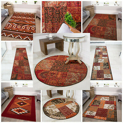 New Small Large Modern Floor Carpets Soft Easy Clean Red Living Room Rugs Cheap • 19.95£