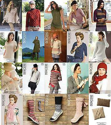 Bergere De France Knitting Patterns For Adults / Home - Various • 3.25£