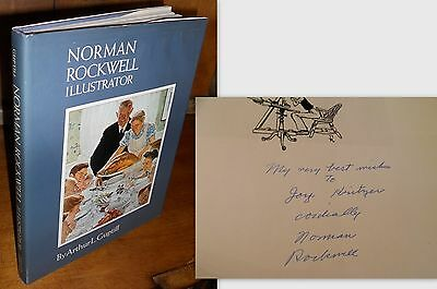 $ CDN227.07 • Buy Signed ~ Norman Rockwell: Illustrator By Arthur L. Guptill (1972, Hardcover)