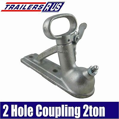 AU25 • Buy Trailer Coupling Quick Release 2 Hole 50mm 2000kg Rated Aus Standard AS4177.3