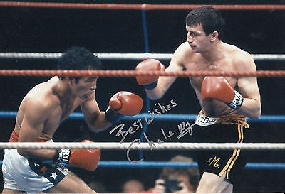 £24.99 • Buy Charlie Magri Hand Signed Boxing 12x8 Photo 1.