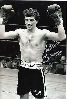 £24.99 • Buy Charlie Magri Hand Signed Boxing 12x8 Photo 2.