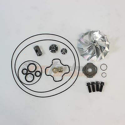 AU194.67 • Buy Powerstroke 7.3L GTP38 Turbo Upgrade 66/88mm Billet Compressor Wheel Rebuild Kit