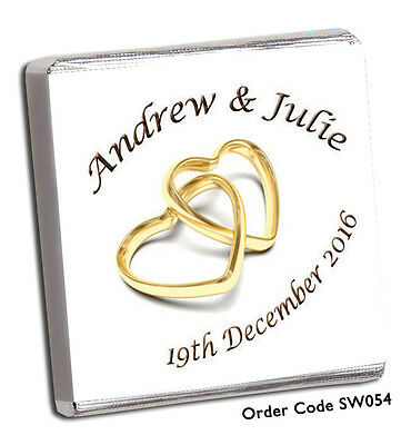 £31.99 • Buy 150 Personalised Wedding Favours  ***the Biggest And Best On Ebay *** Free P&p**