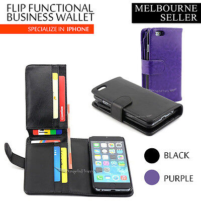 AU6.99 • Buy For Apple IPhone 6 Case Long Wallet Leather IPhone 6 Plus Cover