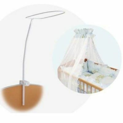 Brand Drape Canopy Mosquito Net Holder Pole Baby Nursery Cot Bed Crib Cradle • 10.95£