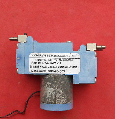 $62 • Buy Used Work Hargraves Mini Diaphragm Double Head Air Gas Pump D747C-21-01 12V # GY