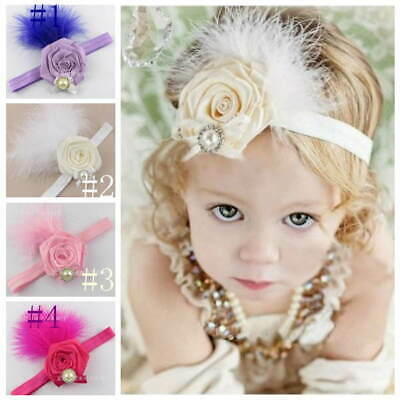 $ CDN2.41 • Buy Kids Baby Girls Headband Head Band Hair Accessories Flower For Party Photo