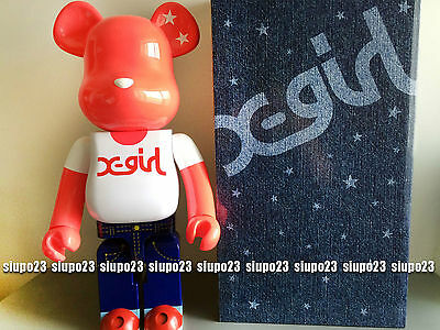 $1499.99 • Buy Medicom 1000% Bearbrick ~ Xgirl Be@rbrick Reaching 20th X-girl