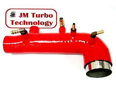 $58 • Buy 02-07 Wrx / Sti / Forester Ej20 Ej25 Turbo Silicone Intake Inlet Hose Red