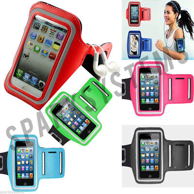 Running Jogging Cycling Gym Sports Armband Phone Case Pouch For Various Phones • 3.97£