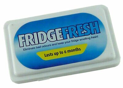 6 Months Fridge Air Freshener - Refrigerator Odour Deodoriser - Fresh Smells NEW • 2.69£