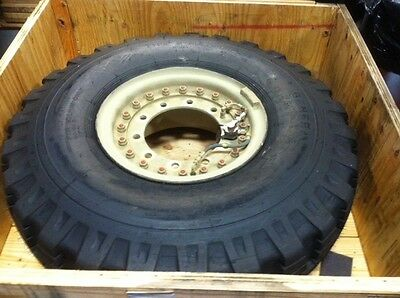 $650 • Buy General Tire 14.00-20, 18 Ply Military Tire Wheel Assembly Appears Unused