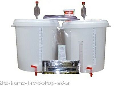 Basic Starter Equipment Kit For 5 Gallons Wine-Beer-Cider-Spirits - Home Brewing • 48£