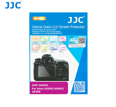 AU10.29 • Buy JJC Optical Tempered LCD Glass Screen Protector For Sony A6400 A6300 A6000 A6600