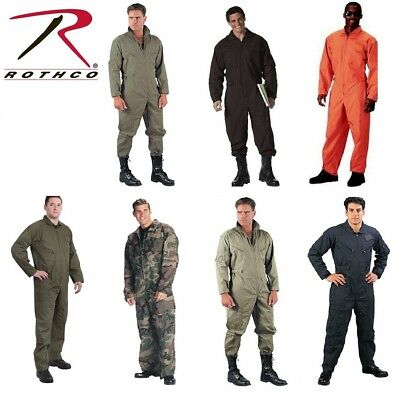 $53.99 • Buy Military Uniform Flight Suit Air Force Style Fighter Flight Coveralls Rothco