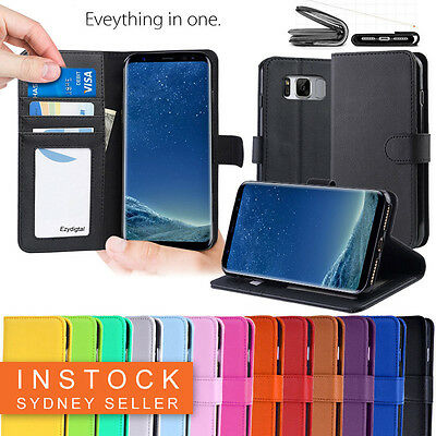 AU7.45 • Buy New Wallet Leather Case Cover For Samsung Galaxy S6 S7 S8 S9 S10 S10 Plus Note 9