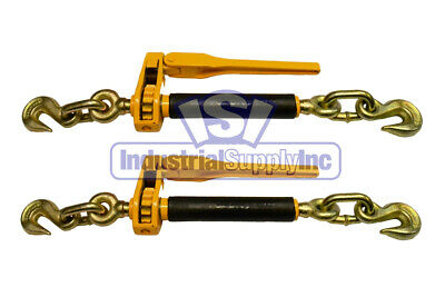 $84.95 • Buy Load Binder | Ratchet | Tow Chain | 5/16  - 3/8  | 2 Pack | Industrial Supply