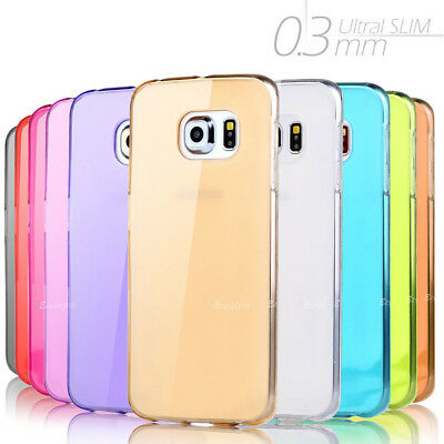 AU3.95 • Buy Ultra Slim High Gloss Frosted Crystal Gel Case Cover For Samsung S7 S8 S9 Plus