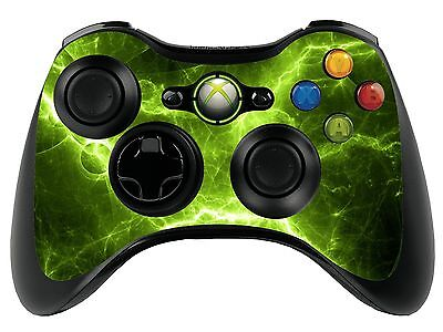 £2.99 • Buy Green Electric Xbox 360 Remote Controller/Gamepad Skin / Cover / Vinyl  Xbr27