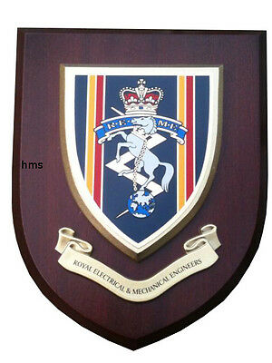 REME Wall Plaque UK Hand Made For MOD Regimental Military • 19.99£