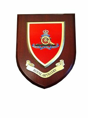 Royal Artillery Wall Plaque UK Hand Made For MOD Regimental Military • 19.99£