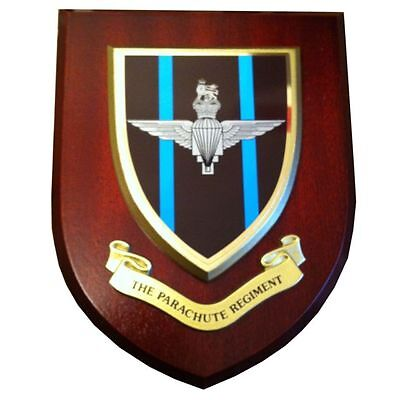 Parachute Regiment Wall Plaque UK Hand Made For MOD Regimental Military • 19.99£