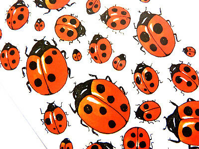 Ladybird Stickers. Kids, Childrens Labels For Craft & Decoration, 4400 • 2.50£