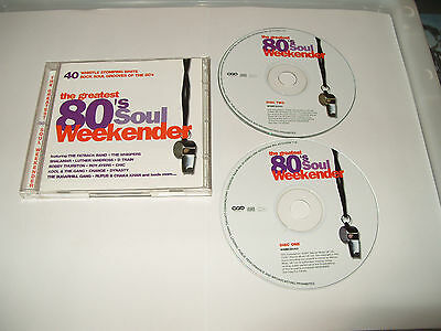 £9.79 • Buy 80's Soul Weekender (2001)2 Cd Excellent Condition