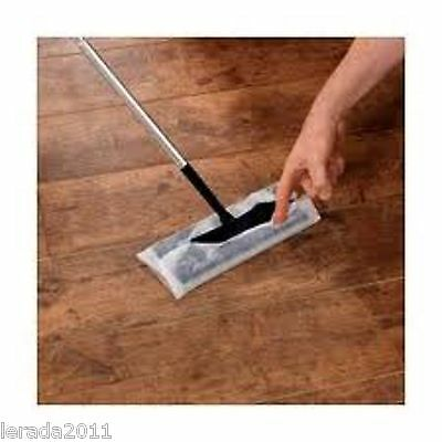 Laminate Wood Floor Duster Cleaner & Pack 30 Mop Refills Anti Static Dust • 13.79£