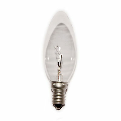 £7.95 • Buy 2 X Crompton Branded Candle Light Bulb 15W SES E14 Dimmable Decorative Lamp