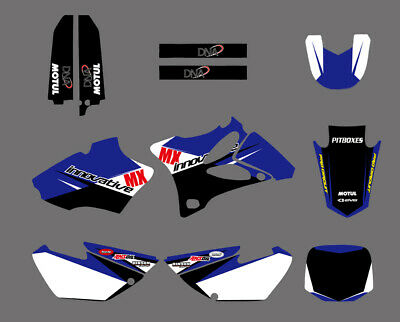 AU55.99 • Buy Decals Stickers Graphics Kit Graphic Background For Yamaha YZ85 2002-2014