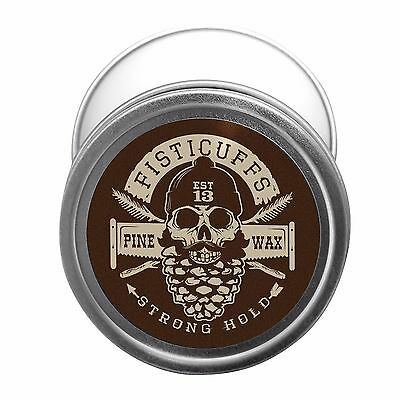 Fisticuffs Pine Scent Strong Hold Mustache Wax 1 OZ. Tin • 8.39£