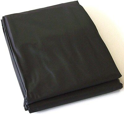 AU32.95 • Buy BLACK PVC Pool Snooker Billiard Table Dust Cover For 8' Ft 4' Ft Pool Table