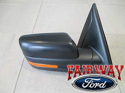 $379.95 • Buy 11 Thru 14 F-150 OEM Ford Power Fold Heated Signal Puddle Mirror RH Passenger