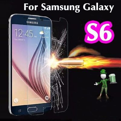 $ CDN8.68 • Buy 2 X 100% Genuine Tempered Glass 9H Screen Protector For Samsung Galaxy S6
