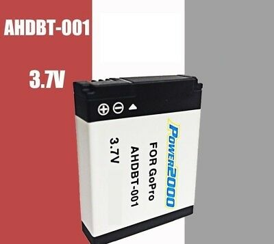 AU15.99 • Buy Replacement Battery AHDBT-001 For GOPRO HD Hero Hero2 Camera Helmet Surf Naked