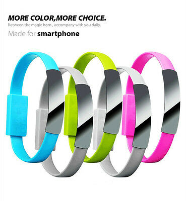 $1.04 • Buy USB Data Sync Cord Charging Cable Portable Bracelet Style For IPhone Samsung Efo