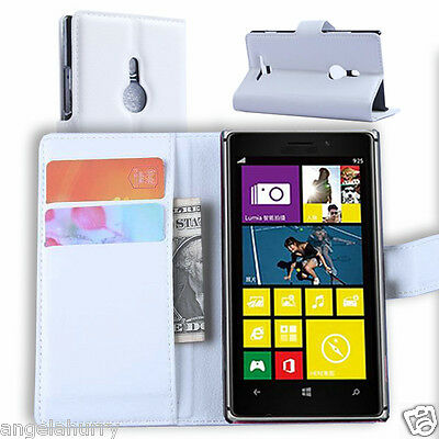 AU3.93 • Buy Premium Credit Wallet Leather Case Cover For Nokia Lumia 925
