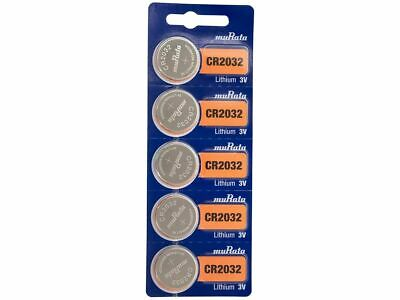 $ CDN5.49 • Buy 5 Pcs CR2032 Lithium Battery DL2032 Sony 2032 3V Coin Cell Button Batteries