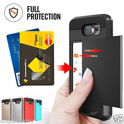 AU5.93 • Buy Samsung Galaxy S5 S6 Edge Plus Note 4 5 Slide Armor Tough Heavy Duty Case Cover