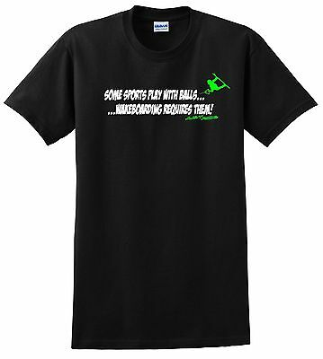 Just Ride T Shirt Requires Balls Wake  • 16.67£