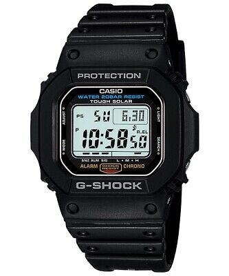 AU128.90 • Buy Casio G-Shock Digital Retro Classic Solar Mens Black Watch G5600E-1 G-5600E-1DR