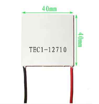 1pcs NEW TEC1-12710 Heatsink Thermoelectric Cooler Cooling Peltier Plate Module  • 2.31£